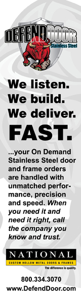 Defend Door Stainless Steel